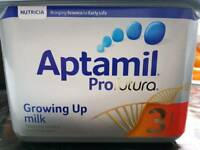 APTIMIL BABY MILK BRAND NEW 4 AVAILABLE