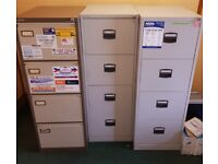 3 x Filing Cabinets (4 x drawers each)