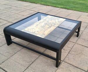 Classy Glass Coffee Table - $100