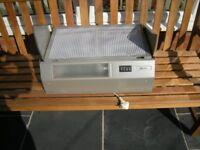 Neff D2615X0GB Built In 60cm 3 Speeds Integrated Cooker Hood Silver