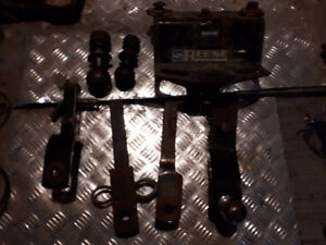 trailer hitch draw bars, balls, lights, hitches, surge coupler