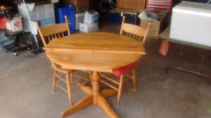 table,2 chairs