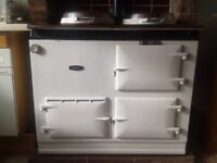 White gas fired 1960s Aga