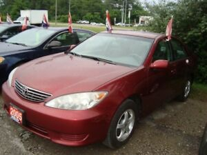2005 Toyota Camry LE Only 1280km Accident & Rust Free