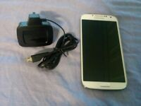 Samsung Galaxy s4 gt-i9195-16gb White Frost 3Network Mobile Phone(w3)