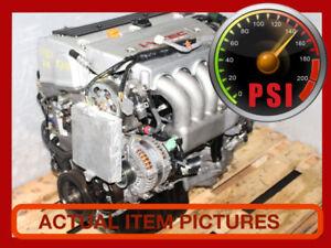 JDM ACURA TSX K24A3 2.4L VTEC ENGINE, 6SPEED TRANSMISSION 03-08.