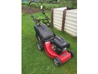 Mountfield petrol mower. Model S461PD (Self-Propelled), 46cms cut diamiter. In excellent condition.