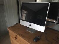 Apple iMac 20 inch - good condition - running Mac OS Sierra