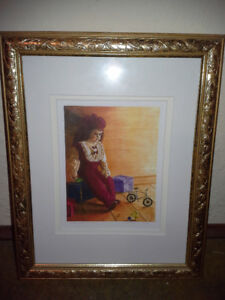 """LIMITED EDITION FRAMED PRINT """"WAITING"""""""