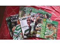 COLLECTION OF CELTIC BOOKS,ANNUALS AND CELTIC VIEWS