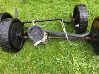 BMC front and rear axle