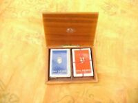 Playing cards @ box