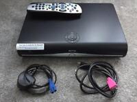 Sky+ HD box, remote and cables