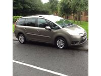 7 SEAT DIESEL 2009 CITROEN C4 GRAND PICASSO DIESEL AUTOMATIC 1.6 7 SEATER MPV 79000 MILES,MOT MAR 18