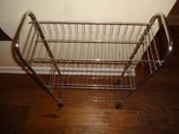 3 Tier Slimline Trolley