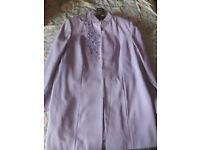 Lilac 4 pc suit size 20