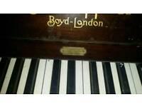 Boyd london piano £170