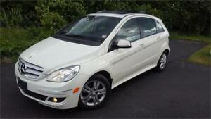 2008 MERCEDES-BENZ B200 TURBO PANOROOF CERTIFIED