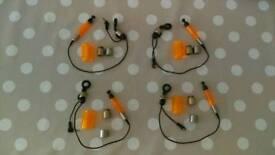 Fox illuminated carp fishing bobbins