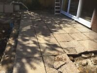 Paving slabs concrete free to collector
