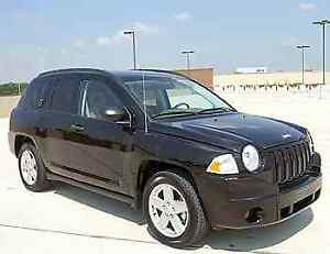 2008 Black Jeep Compass
