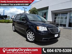 2013 Chrysler Town & Country Touring W/ STOW'N GO SEATING & P...