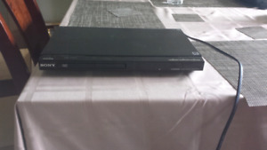 Sony DVD Player with HDMI Input