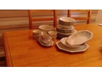 Eternal Beau dinner set with extra pieces