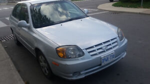 2006 Hyundai Accent Hatchback Low KM REDUCED PRICE