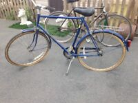 2 lovley old fashioned bikes