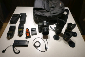 Canon 60D with lenses, case and accessories - mint condition