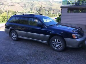 2001 AWD Subaru Outback ( Recent Inspection )