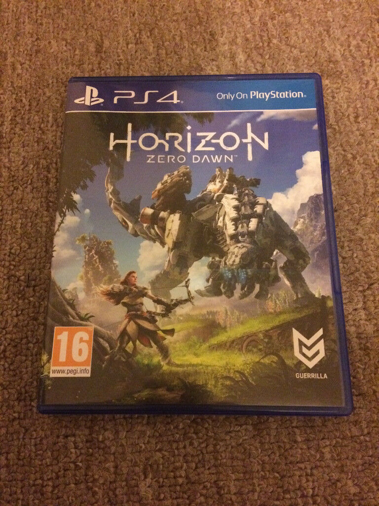 PS4 GAME UP FOR SWAPSOR MAYBE SELLin Leicester, LeicestershireGumtree - Here i have a copy of Horizon Zero Dawn for PS4 in Brand New Condition only played for around 30 minutes Would like to swap it for 2 ps4 games like GTA V and FIFA 17 those are the 2 games i want but feel free to send me any of ps4 titles If...