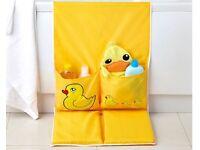 Yellow Duck Kneeling Pad Bath Tidy (H89 x W45 x D2cm) (NEW)