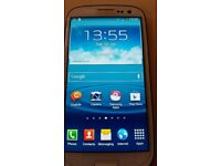 Samsung Galaxy S3, Good Condition. Boxed