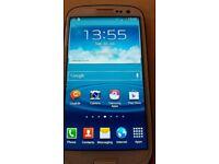 Samsung Galaxy S3, Good Condition. Boxed
