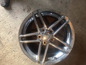Set of 4 Corvette wheels