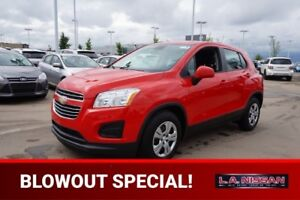 2016 Chevrolet Trax LS Accident Free,  A/C,