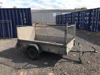 Ifor Williams p7e 7ft by 4ft plant trailer