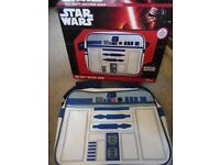 Great going back to school bags Star wars R2D2 retro bag new in box & Super dry pink bag £10 each