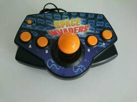 Space invaders plug and play games console