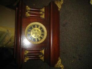 French mahogony regulater clock