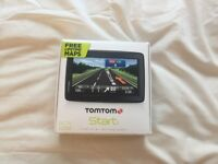 Brand New Unused TomTom Start25 SatNav with FREE Lifetime Maps & Updates