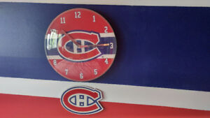 Décoration chambre Canadiens (Hockey)