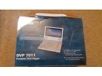 PORTABLE DVD PLAYER 7INCH