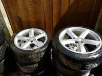 Audi 18 inch s line wheels a4 a5 a6
