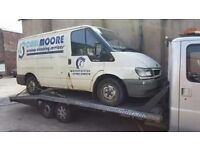 Peugeot boxer 2.5 recovery truck 18 foot alloy body! Twin axel recovery
