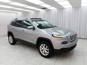 2015 Jeep Cherokee ONE OWNE! NORTH 4x4 ACTIVE DRIVE II SUV w/ BL