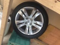 Alloy spare tyre