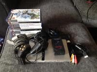 Silver Sony PlayStation 2 / PS2 Slim outfit - Spares / Repair